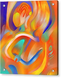 Musical Enjoyment Acrylic Print by Peter Shor