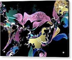 Musical Flow Acrylic Print
