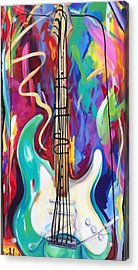 Musical Whimsy  Acrylic Print by Heather Roddy