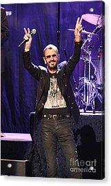 Musician Ringo Starr  Acrylic Print by Concert Photos