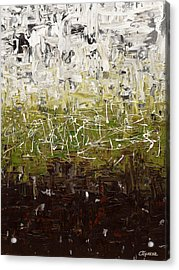 Acrylic Print featuring the painting Musing by Carmen Guedez
