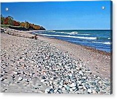 Muskallonge Beach Acrylic Print