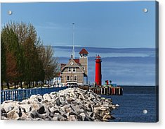 Muskegon Pierhead Light Acrylic Print