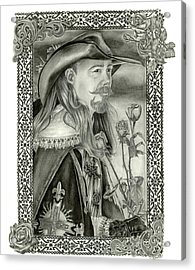 Musketeer Acrylic Print
