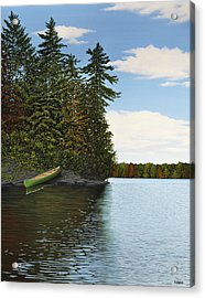 Muskoka Shores Acrylic Print by Kenneth M  Kirsch