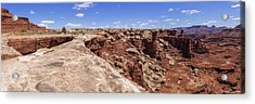 Musselman Arch Acrylic Print by Chad Dutson