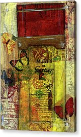Acrylic Print featuring the painting Must De Cartier by P J Lewis