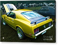 Mustang Boss 302 Acrylic Print