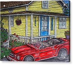 Mustang Sallys' Place Acrylic Print