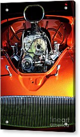 Acrylic Print featuring the photograph Muscle Engine by Scott Kemper