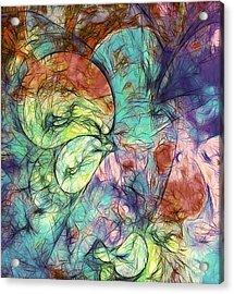 Muted Heaven Abstract Acrylic Print