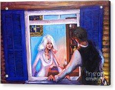 Intimate Conversation Acrylic Print