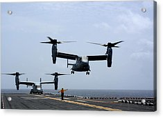 Mv-22 Osprey Aircrafts Us Navy Acrylic Print