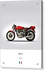 Mv Agusta 350 S 1977 Acrylic Print