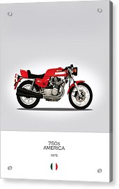 Mv Agusta 750 S America Acrylic Print