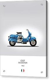 Mv Agusta Scooter Acrylic Print
