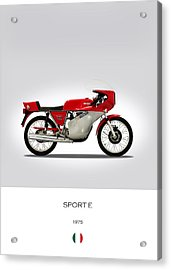 Mv Agusta Sport E Acrylic Print