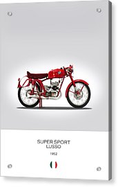 Mv Agusta Super Sport Lusso Acrylic Print