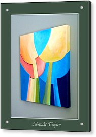 My Abstract Tulip Acrylic Print by Carola Ann-Margret Forsberg
