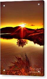 My Anniversary Sunset Acrylic Print by Kim Shatwell-Irishphotographer