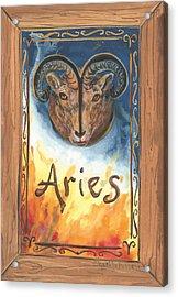 My Aries Acrylic Print