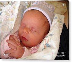 My Baby Prays II Acrylic Print by Daniel Henning