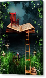 My Book Said Come Fly With Me Acrylic Print