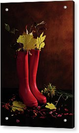 My Boots Are Cool Acrylic Print