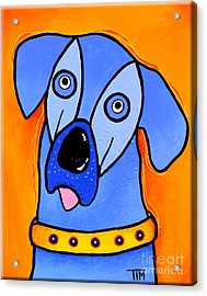 My Brother Is Blue Too Acrylic Print by Tim Ross