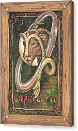 My Capricorn Acrylic Print