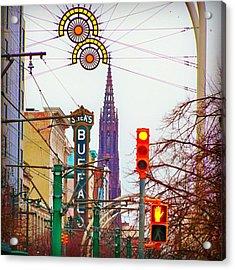 My City.......   Buffalo Ny Acrylic Print