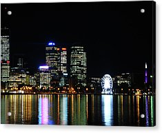 My City  Perth Acrylic Print by Kelly Jones