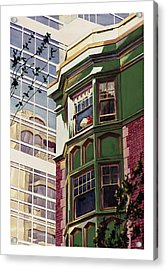 My Corner Of The World Acrylic Print by Mike Hill
