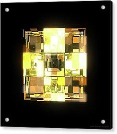 My Cubed Mind - Frame 001 Acrylic Print
