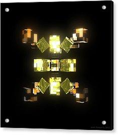 My Cubed Mind - Frame 085 Acrylic Print