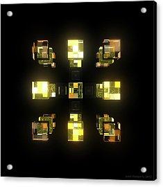 My Cubed Mind - Frame 141 Acrylic Print