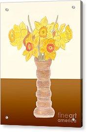 My Daffodils Acrylic Print