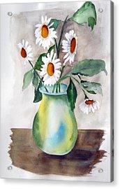 My Daisies Acrylic Print