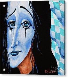 My Dearest Friend Pierrot Acrylic Print by Igor Postash