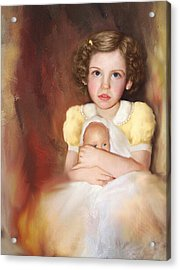 Acrylic Print featuring the photograph My Dolly by Bonnie Willis