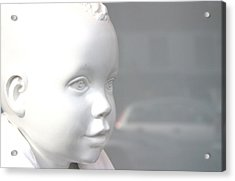 My Face Acrylic Print by Jez C Self