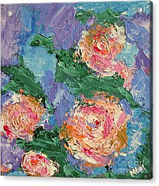 My Father's Roses Acrylic Print