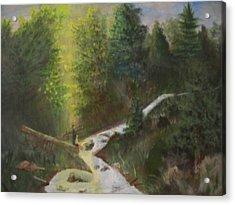 My Favorite Spot Acrylic Print by Jack Hampton