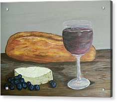 Acrylic Print featuring the painting My Favorite Things by Debbie Baker