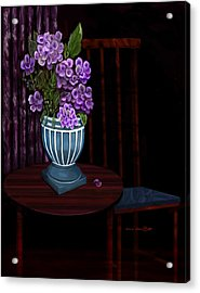 Acrylic Print featuring the painting My Favorite Things by Sena Wilson