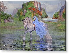 My Favorite Time Of The Day Acrylic Print by Betsy Knapp