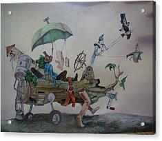 My Favorite Toy Acrylic Print by Carlos Rodriguez Yorde