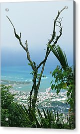 My Favorite Wishbone Between A Mountain And The Beach Acrylic Print