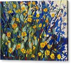 My Flower Bed Acrylic Print