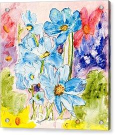 My Flower Garden Acrylic Print